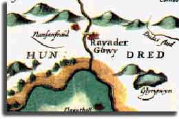 Rayader Gowy on a 1607 map
